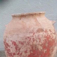 Antigüedades: ANTIGUA Y PRECIOSA TINAJITA OREJERA. . Lote 50485259