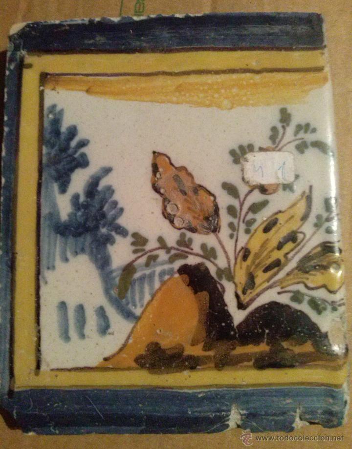 Antigüedades: Excepcional Contrahuella de ceramica Triana Siglo XVII - Foto 2 - 45596947