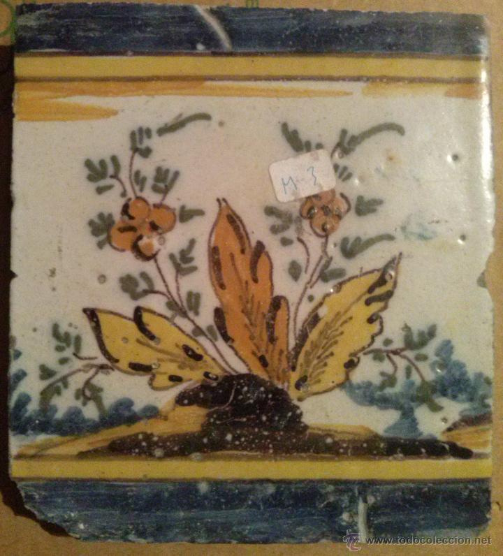Antigüedades: Excepcional Contrahuella de ceramica Triana Siglo XVII - Foto 4 - 45596947