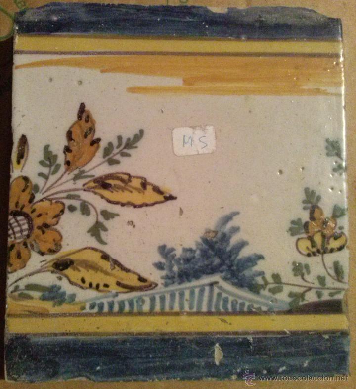 Antigüedades: Excepcional Contrahuella de ceramica Triana Siglo XVII - Foto 6 - 45596947