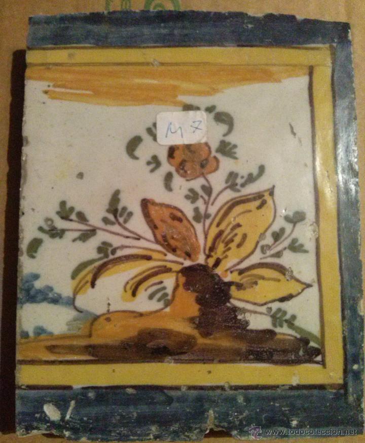 Antigüedades: Excepcional Contrahuella de ceramica Triana Siglo XVII - Foto 8 - 45596947