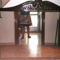 Antigüedades: ESPEJO DE ANTIGUO APARADOR. Lote 50499277