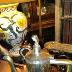 Antigüedades: TETERA DE METAL . Lote 50499551