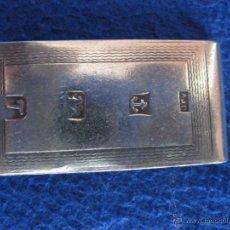 Antigüedades: CLIP DE PLATA MACIZA INGLESA PARA SUJETAR DINERO DE 1993. Lote 50502959