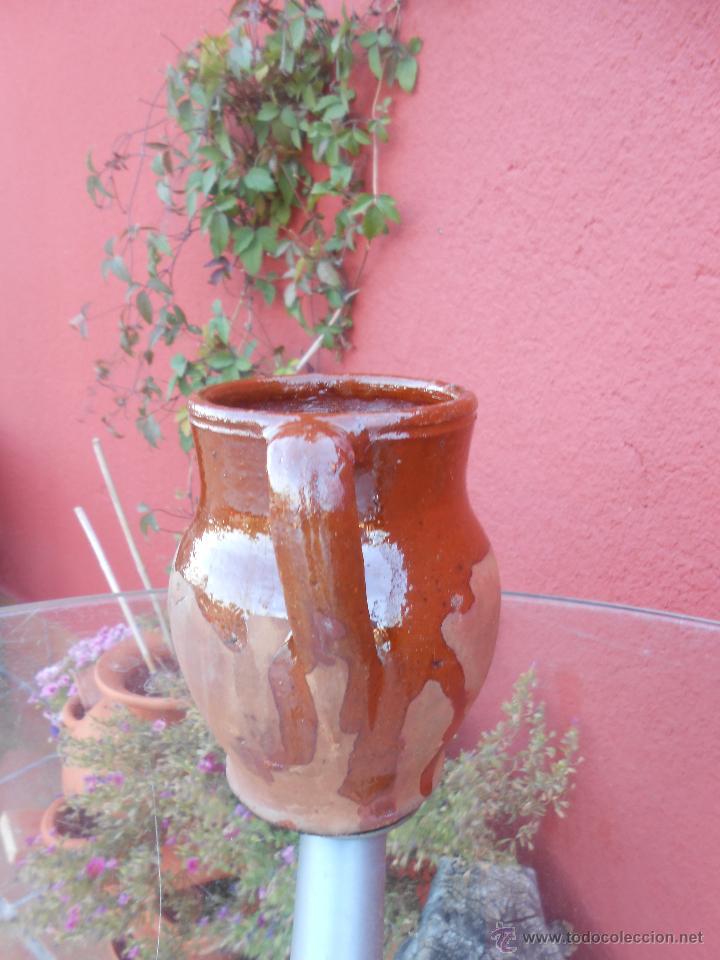 Antigüedades: ANTIGUO POCILLO O JARRILLA DE BARRO COCIDO - Foto 3 - 50511849