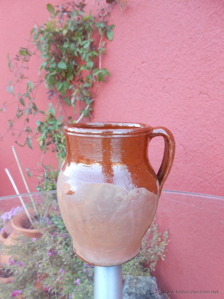 Antigüedades: ANTIGUO POCILLO O JARRILLA DE BARRO COCIDO - Foto 4 - 50511849