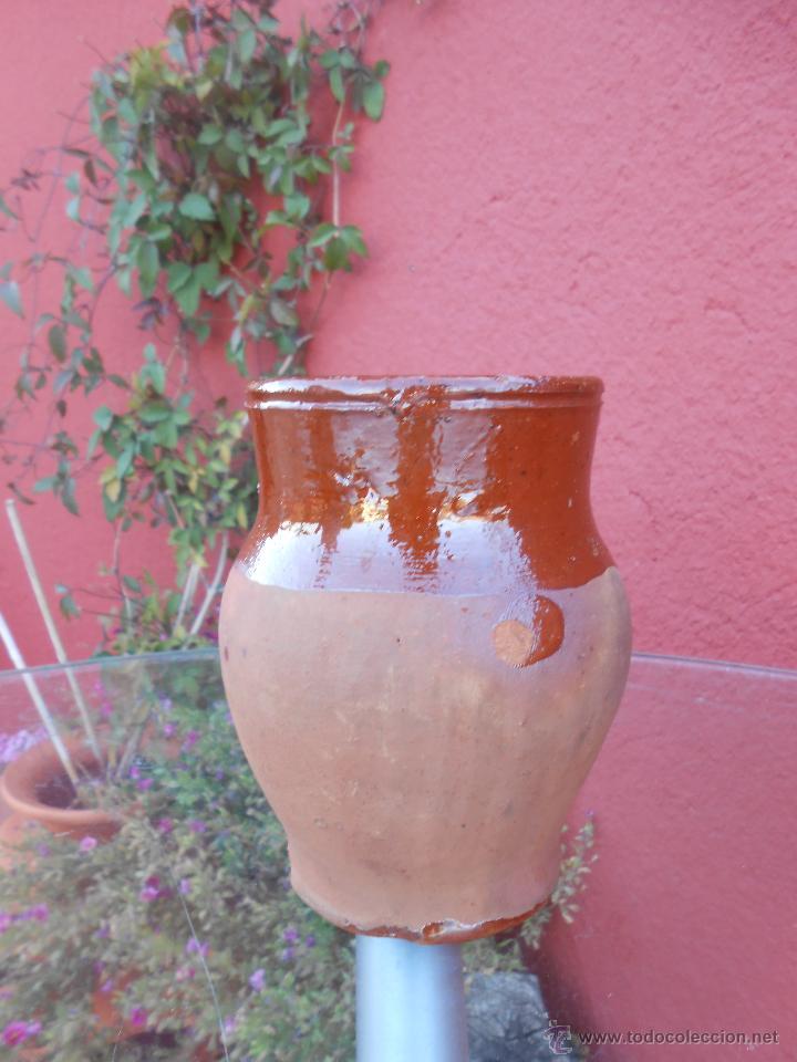 Antigüedades: ANTIGUO POCILLO O JARRILLA DE BARRO COCIDO - Foto 5 - 50511849