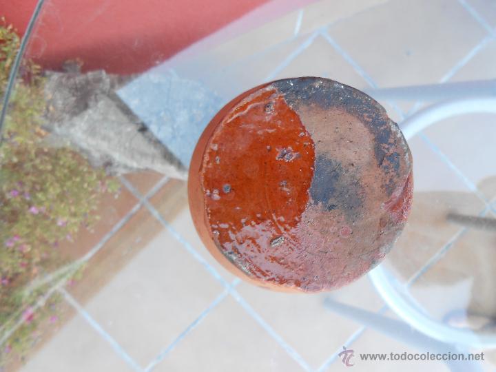 Antigüedades: ANTIGUO POCILLO O JARRILLA DE BARRO COCIDO - Foto 6 - 50511849