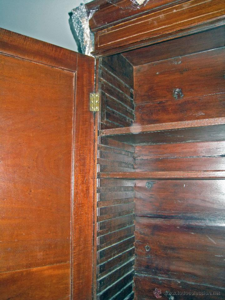 Antigüedades: Mueble secreter-librería inglés (madera) - Foto 6 - 43770088