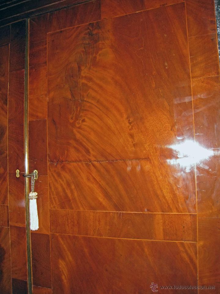 Antigüedades: Mueble secreter-librería inglés (madera) - Foto 7 - 43770088