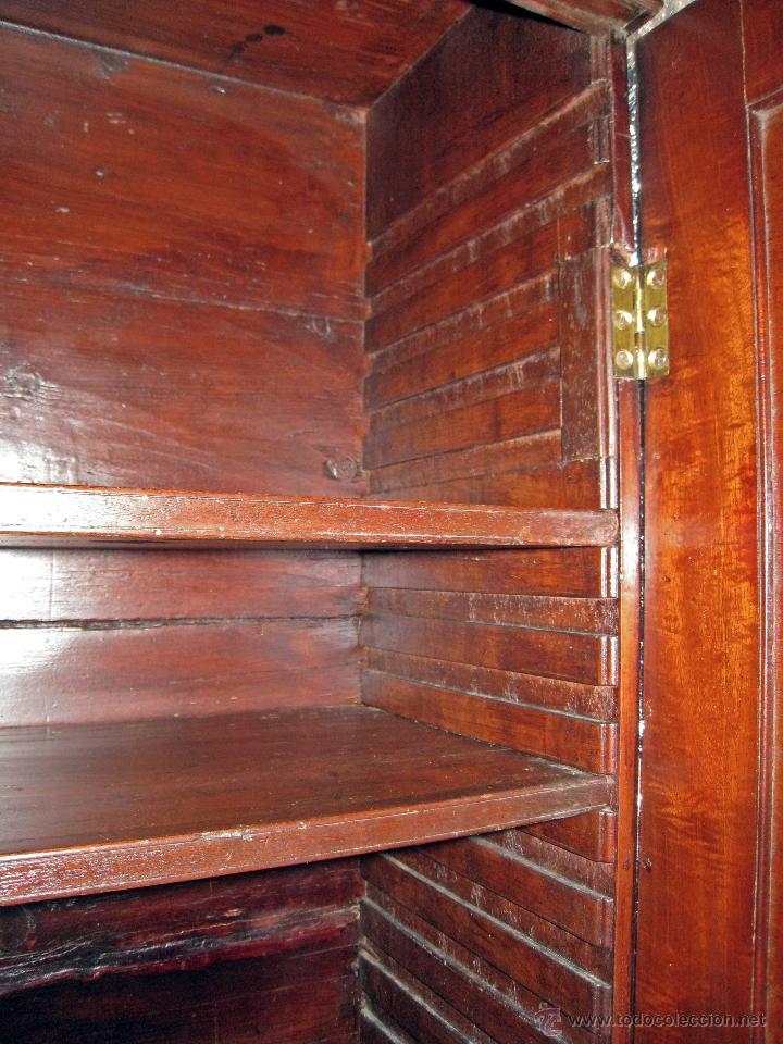 Antigüedades: Mueble secreter-librería inglés (madera) - Foto 9 - 43770088