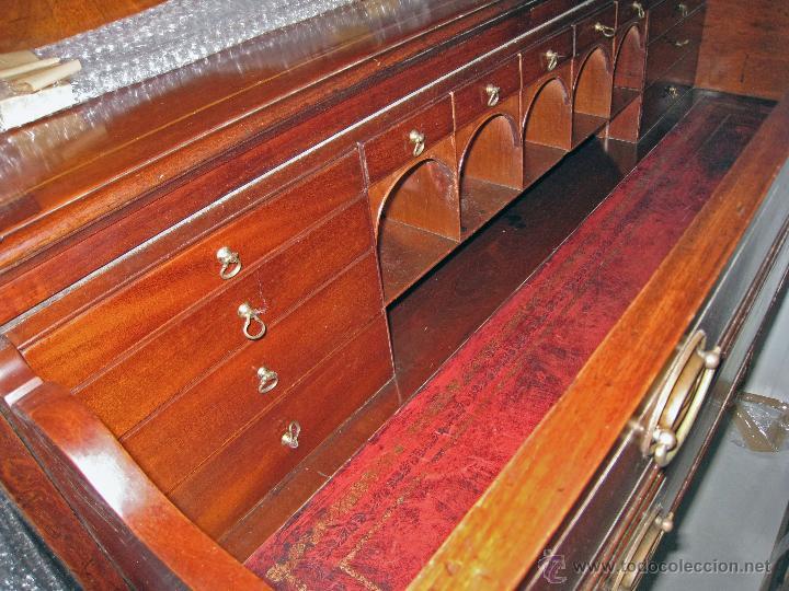 Antigüedades: Mueble secreter-librería inglés (madera) - Foto 10 - 43770088