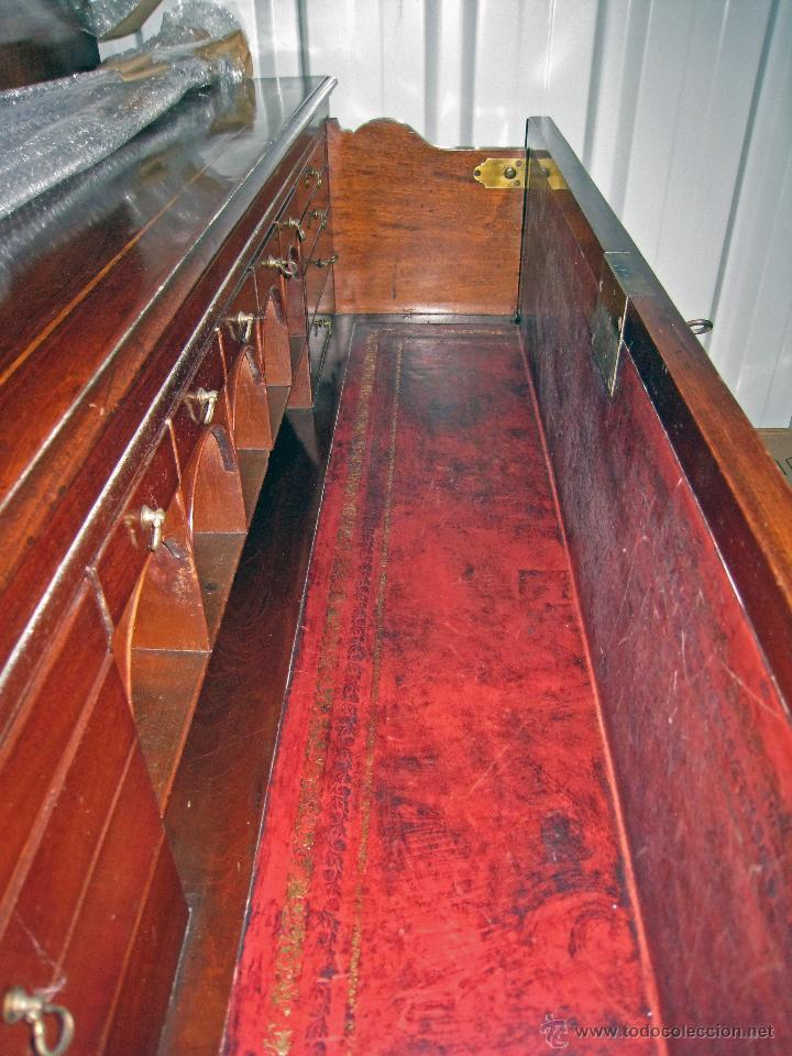 Antigüedades: Mueble secreter-librería inglés (madera) - Foto 12 - 43770088