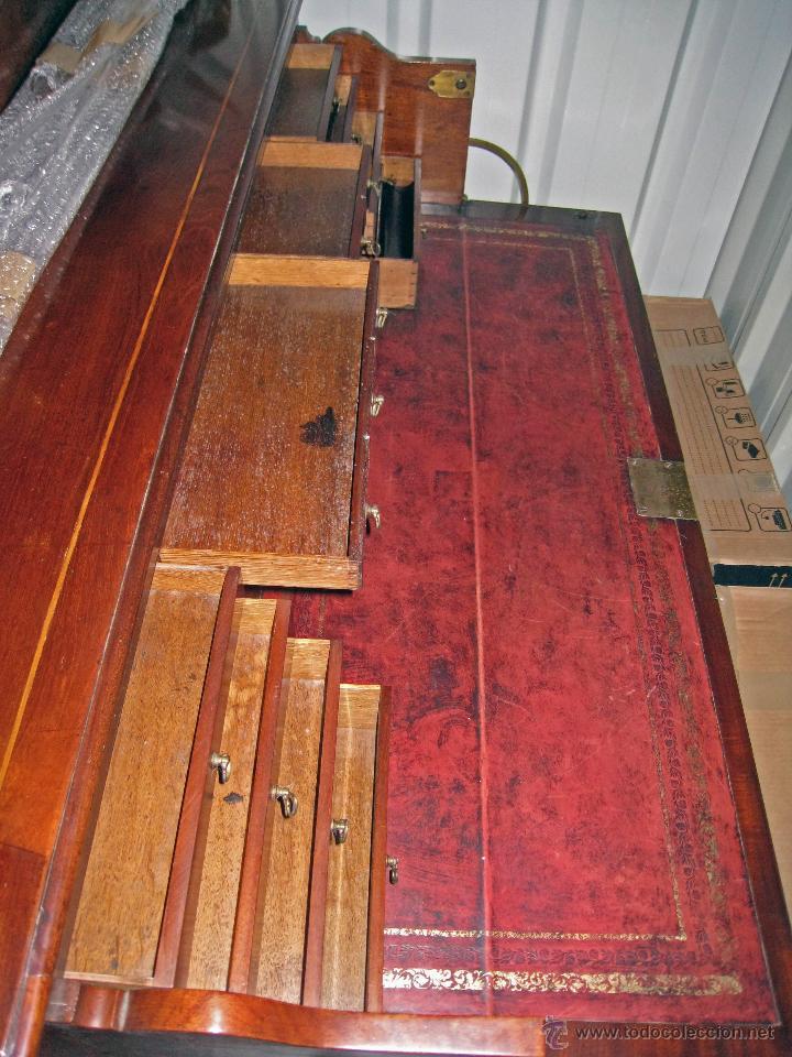 Antigüedades: Mueble secreter-librería inglés (madera) - Foto 16 - 43770088