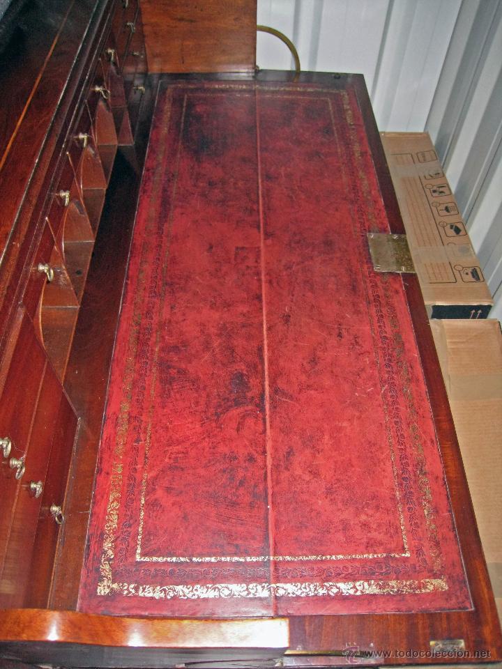 Antigüedades: Mueble secreter-librería inglés (madera) - Foto 18 - 43770088