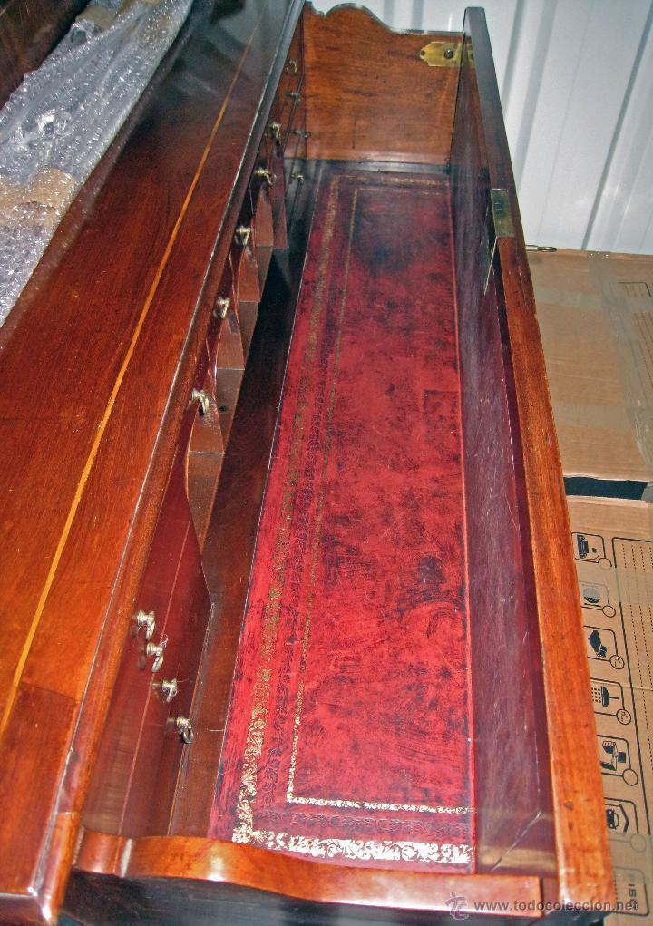 Antigüedades: Mueble secreter-librería inglés (madera) - Foto 19 - 43770088