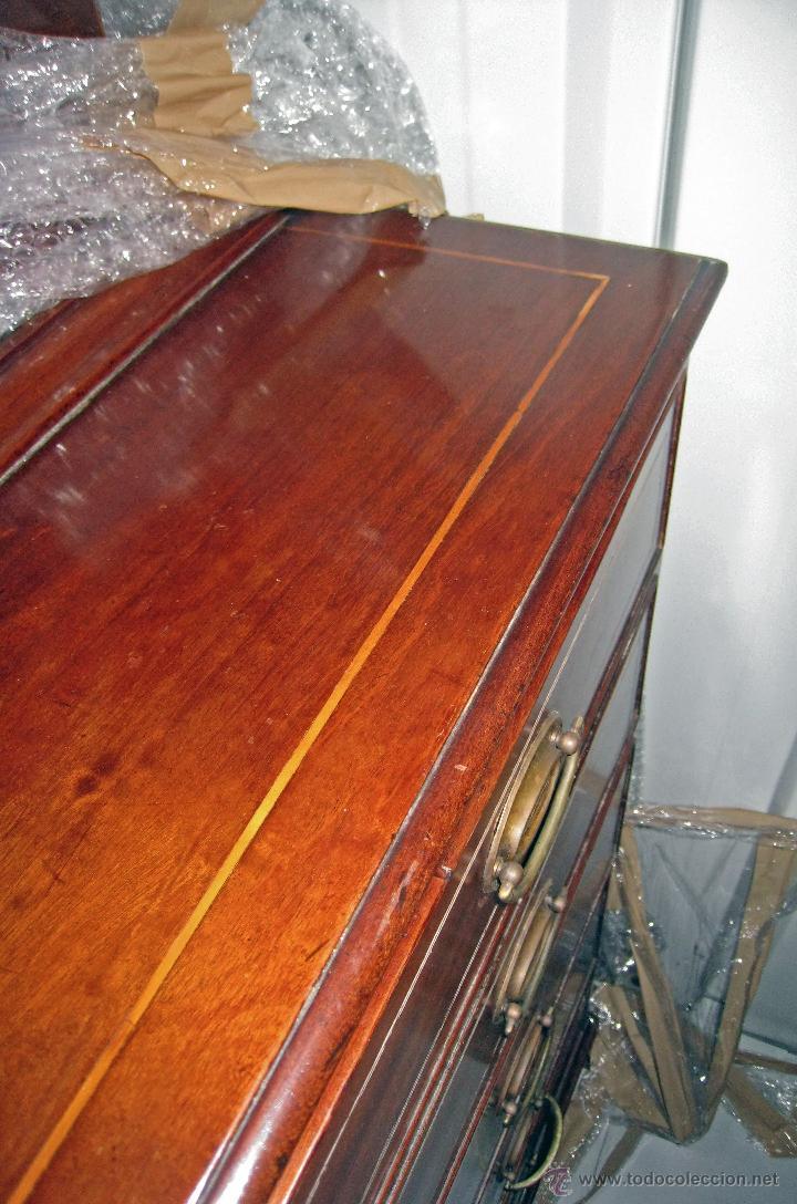 Antigüedades: Mueble secreter-librería inglés (madera) - Foto 22 - 43770088