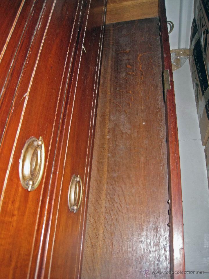 Antigüedades: Mueble secreter-librería inglés (madera) - Foto 27 - 43770088