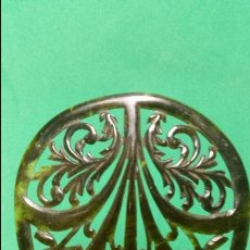 Antigüedades: ANTIGUA Y PRECIOSA PEINETA SÍMIL CAREY PP.SG.XX. 1900 - 1920 BUEN TAMAÑO. Lote 50516692