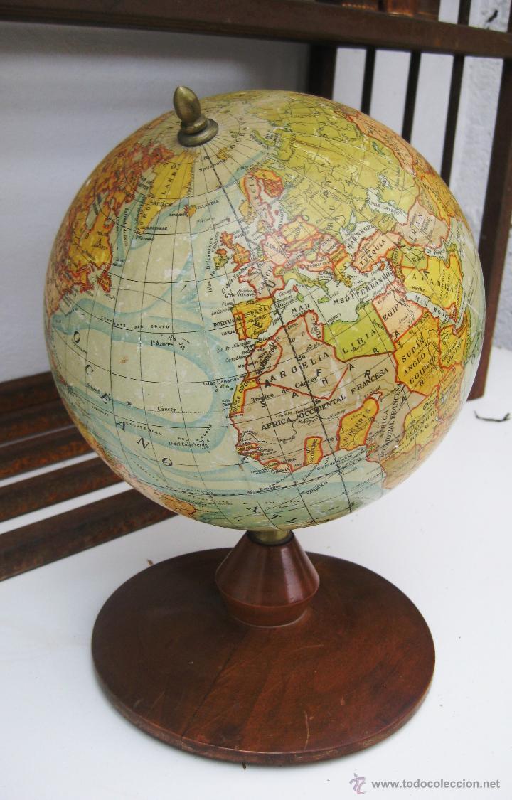 Fantastica gran bola del mundo globo terraqueo comprar en todocoleccion 50530596 - Bola del mundo decoracion ...