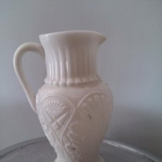 Antigüedades: CURIOSO JARRON SIN BASE DE OPALINA. Lote 50536451