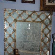 Antigüedades: PRECIOSO ESPEJO ESTILO VENECIANO. Lote 50542914
