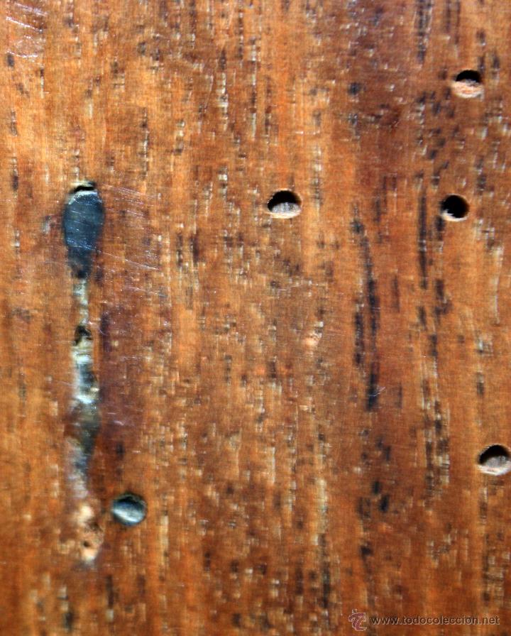 Antigüedades: CANTERANO CATALÁN EN MADERA DE NOGAL Y DECORACIONES EN MARQUETERÍA DE BOJ DEL SIGLO XVIII - Foto 9 - 50543379