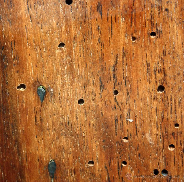 Antigüedades: CANTERANO CATALÁN EN MADERA DE NOGAL Y DECORACIONES EN MARQUETERÍA DE BOJ DEL SIGLO XVIII - Foto 10 - 50543379