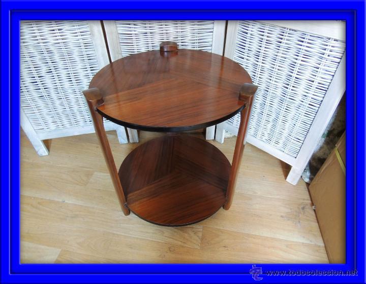 Mesa baja epoca art deco de madera de palisandr comprar for Palisandro muebles