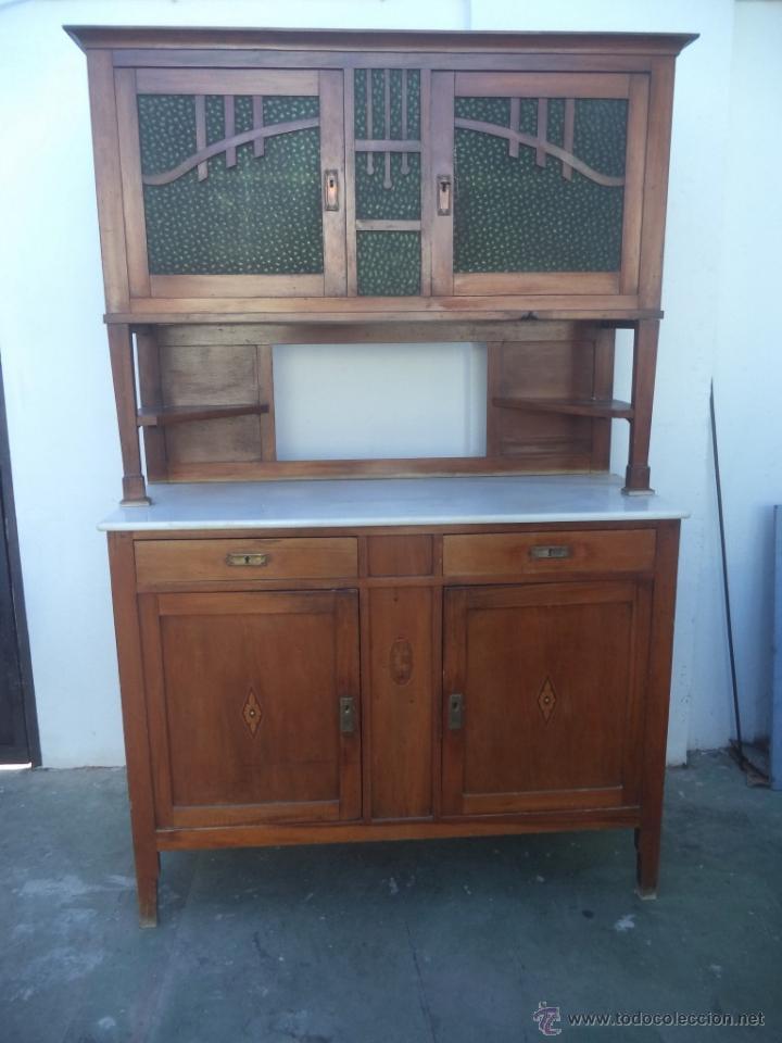 Mueble chinero comprar muebles auxiliares antiguos en todocoleccion 50566634 - Muebles cocina antiguos ...