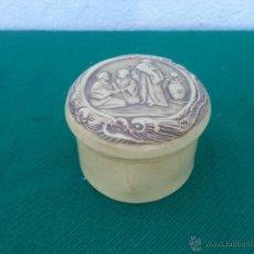 Antigüedades: POLVERA DE CELULOIDE ORIENTAL. Lote 50567166