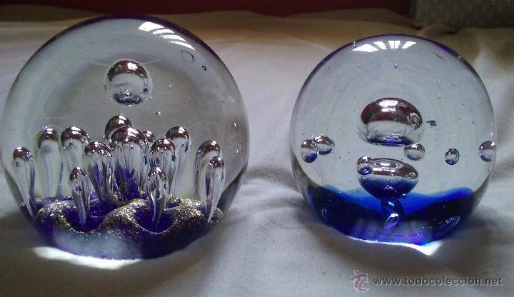 Antigüedades: Bolas de cristal pisapapeles - Foto 4 - 50570460