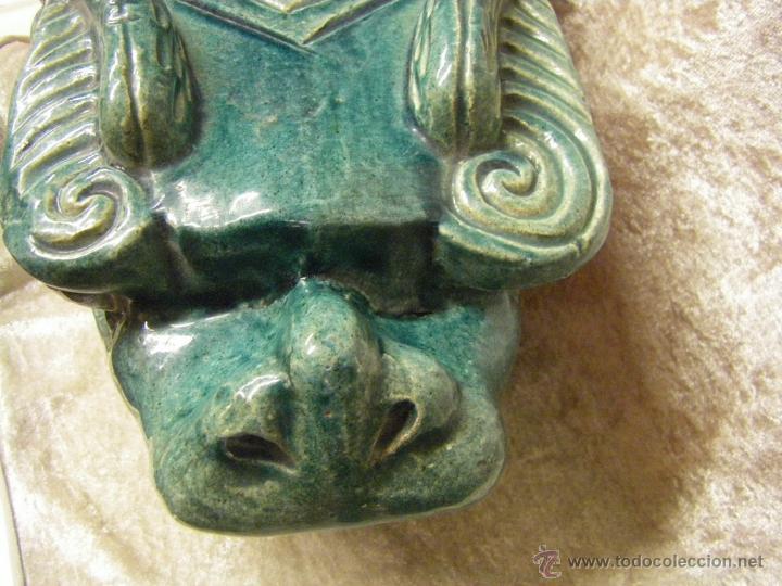 Antigüedades: Linternones cerámicos originarios de China posiblemente siglo XIX - Foto 6 - 50572620