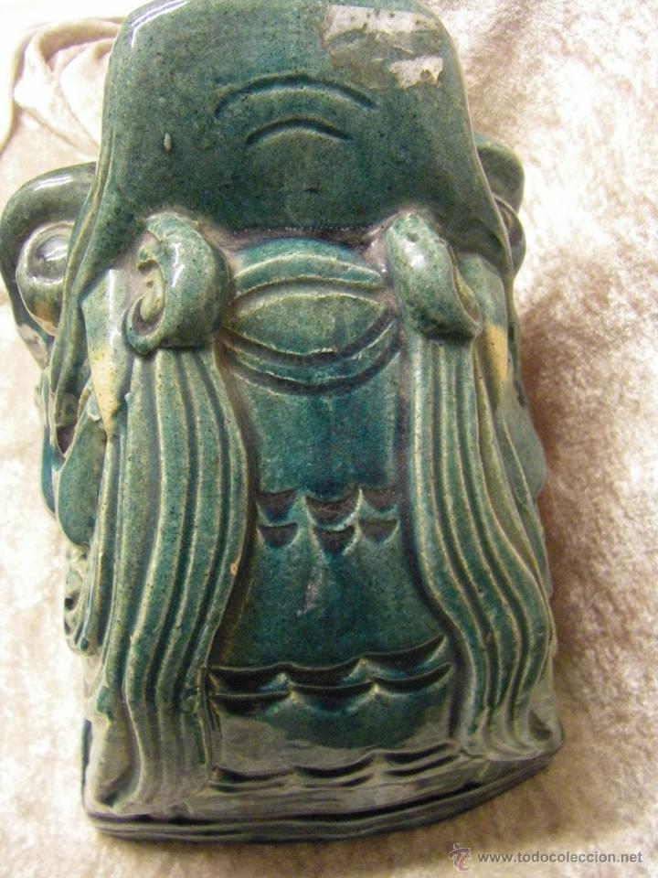 Antigüedades: Linternones cerámicos originarios de China posiblemente siglo XIX - Foto 10 - 50572620