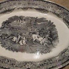Antigüedades: ANTIGUA Y GRAN FUENTES DE CARTAGENA, SELLO INCISO Y TINTA. Lote 48466466
