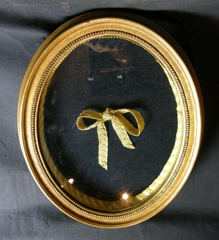 marco ovalado expositor madera estucada dorada - Comprar Marcos ...