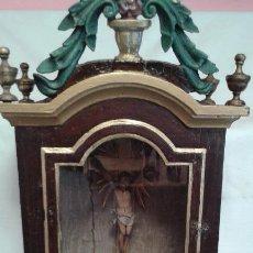 Antigüedades: CAPILLA, ORATORIA , HORNACINA ANTIGUA. Lote 50595393