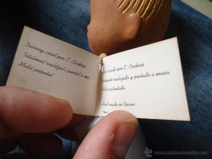 Antigüedades: FIGURA NIÑA JULLAR 15,5 CMS MADE IN SPAIN MODELO PATENTADO - Foto 3 - 118800279