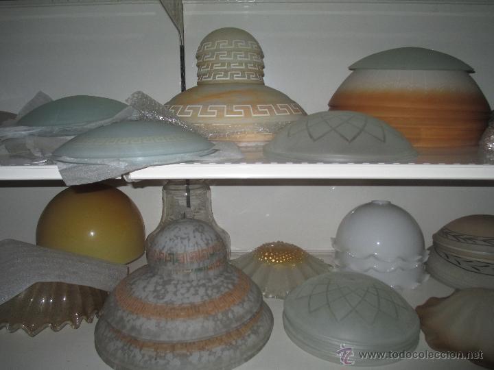 Antigüedades: TULIPA DE CRISTAL - Foto 10 - 50620940