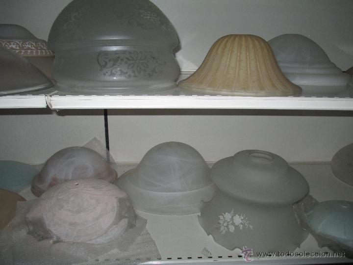 Antigüedades: TULIPA DE CRISTAL - Foto 13 - 50620940