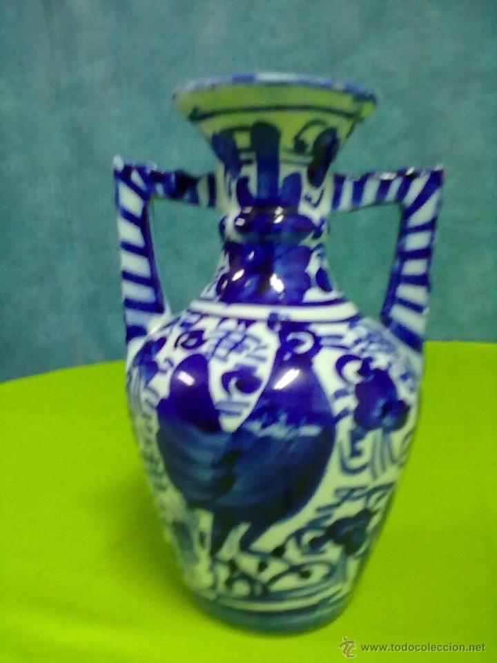 JARRITA ASAS TALAVERA JARRONCITO (Antigüedades - Porcelanas y Cerámicas - Talavera)