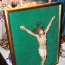 Antigüedades: JESÚS, SANTO CRISTO ENMARCADO.. Lote 50640244