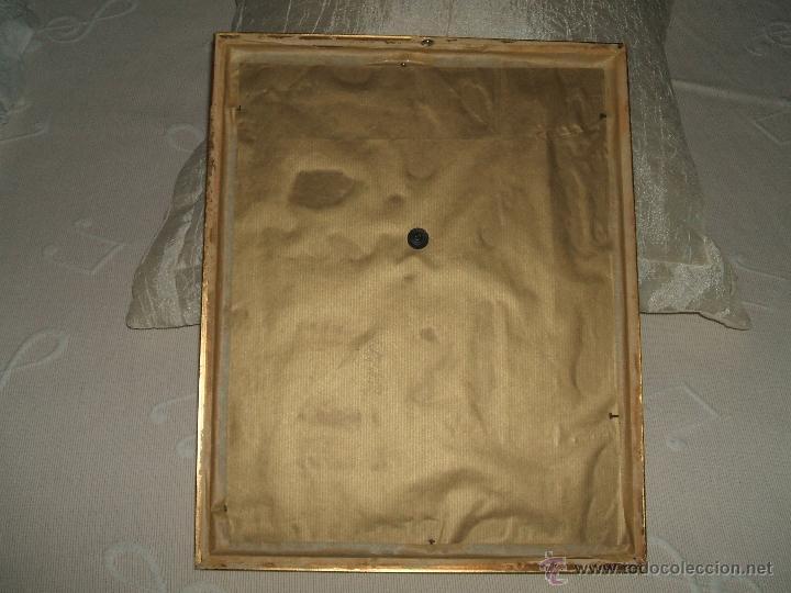 Antigüedades: JESÚS, SANTO CRISTO ENMARCADO. - Foto 8 - 50640244