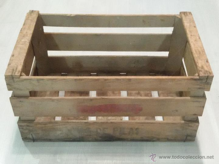 antigua caja de madera para fruta - Cajas De Madera Fruta