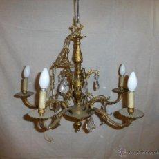 Antigüedades: LAMPARA 5 BRAZOS. Lote 50664079