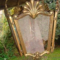 Antiquitäten - LAMPARA ANTIGUO FAROL ANTIGUO EN BRONCE - 50665609