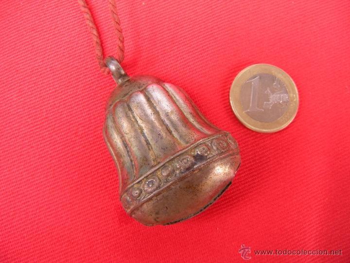 ANTIGUO SONAJERO DE PLATA (Antigüedades - Platería - Plata de Ley Antigua)