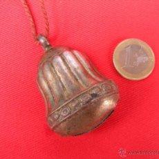 Antigüedades: ANTIGUO SONAJERO DE PLATA. Lote 50667013