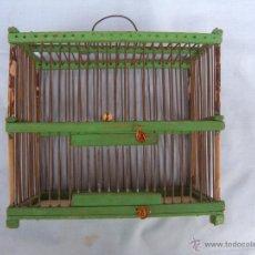Antigüedades: ANTIGUA JAULA PEQUÑO TAMAÑO. Lote 50668045