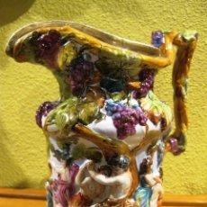 Antigüedades: PORCELANA DE CAPODIMONTE . JARRA. Lote 50673838